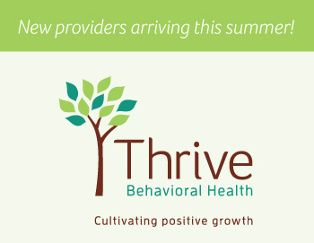Thrive new providers