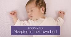 Getting your newborn to sleep