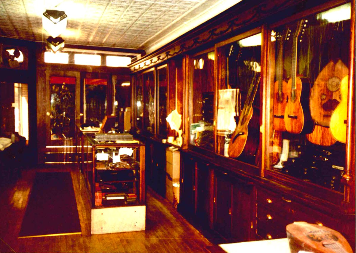 Grandpas violin shop
